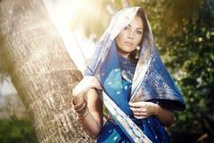 Modo indiano Fotografie Stock