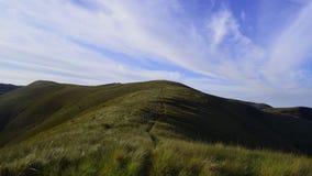 Modo a pace nelle montagne fotografie stock libere da diritti