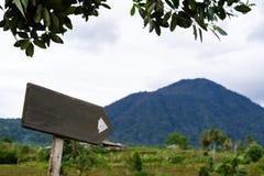 Modo per l'escursione della montagna Fotografie Stock Libere da Diritti
