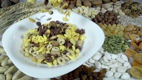 Modo sano di cibo video d archivio