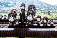 Modo Tanuki della ferrovia Fotografia Stock