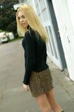 Modo teenager Fotografia Stock
