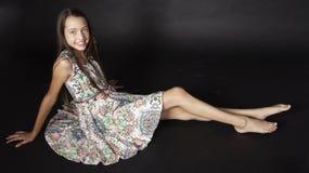 Modo teenager della ragazza Fotografia Stock Libera da Diritti
