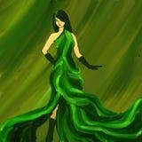 Modo verde Fotografia Stock Libera da Diritti
