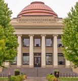 Modoc County domstolsbyggnad i Alturas Kalifornien Arkivbilder