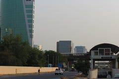 Modos de transporte em Gurgaon, Haryana Fotografia de Stock Royalty Free