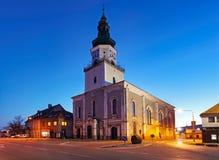 Free Modra City With Church At Night - Slovakia Stock Photography - 197208892