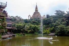 Modren boeddhistische kerk Stock Fotografie