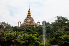 Modren boeddhistische kerk Royalty-vrije Stock Fotografie