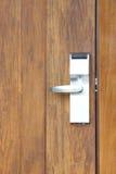 Modren style door handle Royalty Free Stock Photo