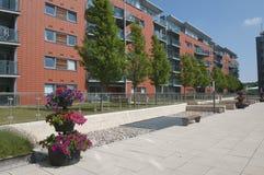 Modrn apartments building UK Stock Photos