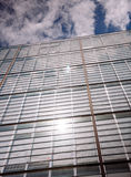Modrn office building with film effect applied Royalty Free Stock Photos