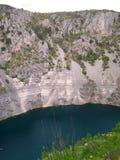 Modro jezero (Blue lake) Stock Images