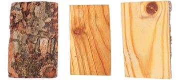 Modrzew drewno barkentyna i Obraz Stock