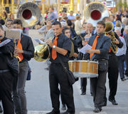 Modugno , Italy - 23 September 2013:Procession of the patron saint Stock Image