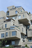 Modulair Flatgebouw royalty-vrije stock fotografie