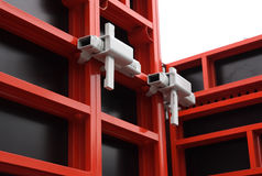 Modular formwork. Stock Photography