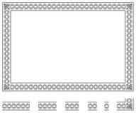 Modular frame bis Stock Photo