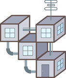 Modular home Stock Images