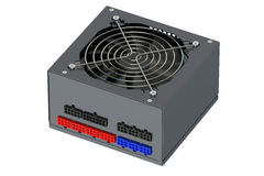 Modular power supply Stock Images