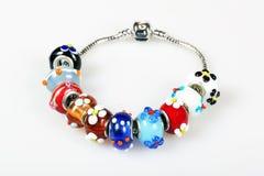Modular woman's bracelet Stock Image
