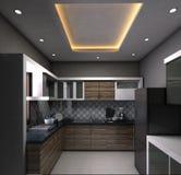 Modularna kuchnia obrazy stock