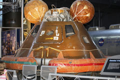 Module d'Apollo 11 Comand Image stock