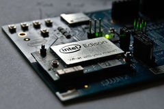 Module d'Intel Edison Photo libre de droits