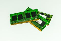 Module de mémoire interne pour des ordinateurs portables photos libres de droits