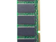 Module de mémoire RAM de la RDA Images libres de droits