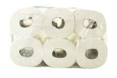 Module de papier hygiénique Photos stock
