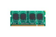 Module de RAM de SODIM Image stock