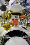 Module de vaisseau spatial, vaisseau spatial orbital Images libres de droits
