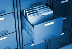 Module et dépliant de fichier illustration stock