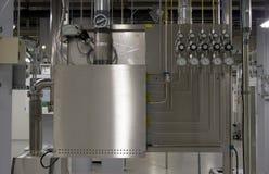 Module et tubulure de gaz Images stock