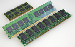 Module of main memory Stock Image