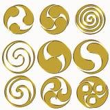 Moduli celtici Immagine Stock Libera da Diritti