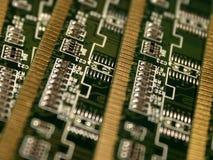 Moduli di memoria di calcolatore III Fotografia Stock