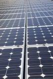 Moduli fotovoltaici Immagini Stock Libere da Diritti