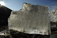 Moduli ghiacciati Fotografia Stock