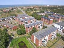 Moduli solari fotografie stock libere da diritti
