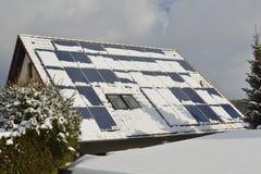 Moduli solari fotografia stock libera da diritti