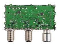 Modulo ad alta frequenza schermato e circuito elettronico della a Immagine Stock Libera da Diritti