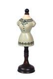 Modulo antico del vestito Immagini Stock