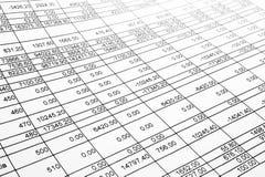 Modulo di imposta Immagine Stock