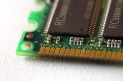 Modulo di memoria del PC Immagini Stock