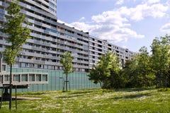 Modulo moderno Vienna dell'alloggiamento Immagine Stock
