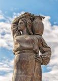 Modura喷泉在Herastrau公园,布加勒斯特 免版税库存图片