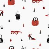 mody bezszwowy deseniowy Zdjęcia Stock