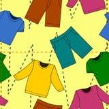 mody bezszwowy deseniowy Fotografia Stock